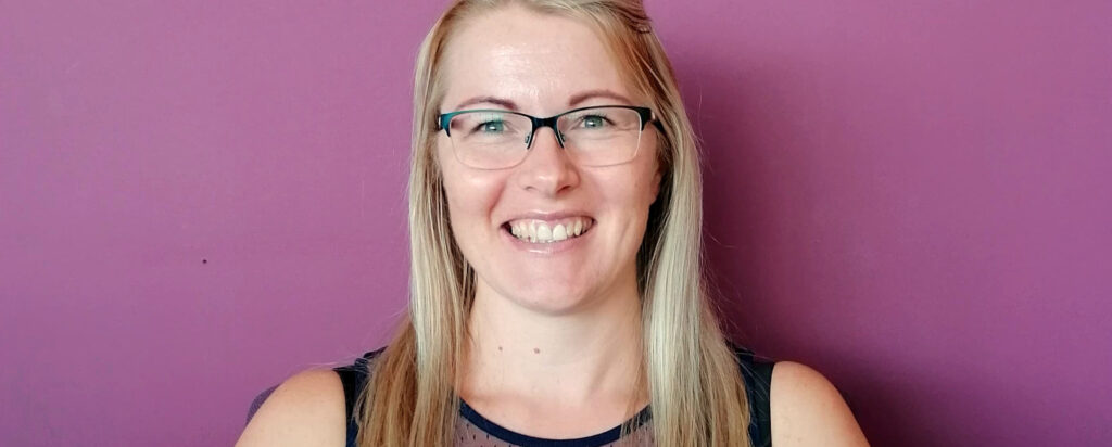 Pregnancy Support service lead Louise Whitworth